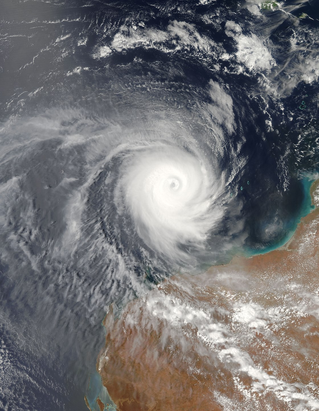 Tropical Cyclone Billy December 2008 Image courtesy of NASA 2.jpg