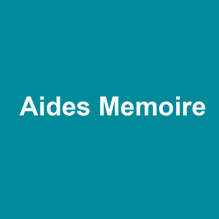 Aides memoires logo